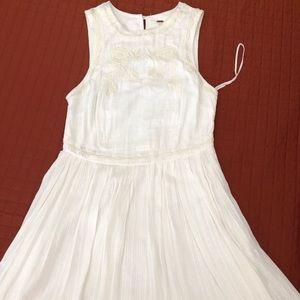 free people white flowy dress